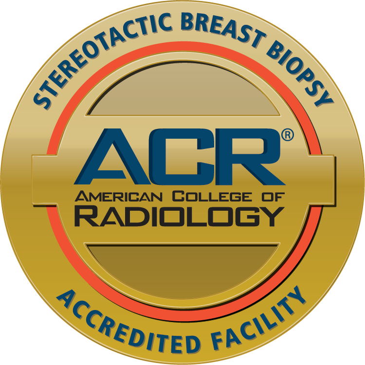 ACR Stereotactic Breast Biopsy Accreditation Seal