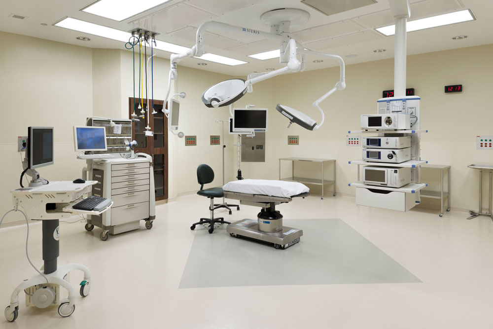 Surgical suite at Roane Medical Center.