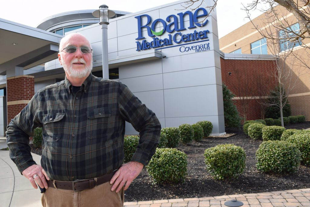 Larry Brown, patient of Roane Medical Center